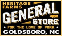 Link to Heritage Farms general store located in Goldsboro North Carolina, an authorized vendor