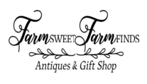 Link to Farm Sweet Finds Antiques and Gift shop, an authorized vendor